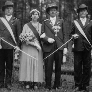1935 – Josef Koerdt & Theresia Knoche (1936: Ehefrau Josefine)