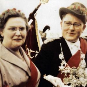 1957 - Franz Linnhoff & Ehefau Franziska