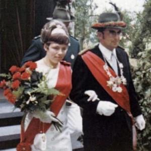 1969  - Wolfgang Franke & Ehefrau Liesel