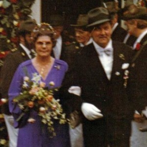 1979 - Kaiser:  Eberhard Ebel & Ehefrau Agnes