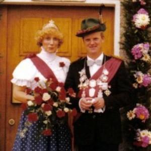 1980 - Erwin Schulte & Ehefrau Barbara