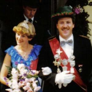 1981 - Hans-Joachim Linnhoff & Ehefrau Monika