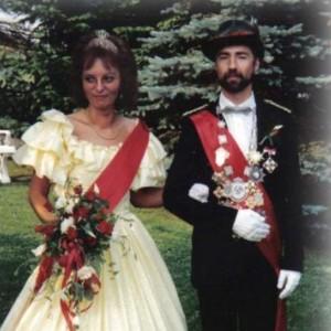 1990 - Heinz Mankopf & Ehefrau Adele