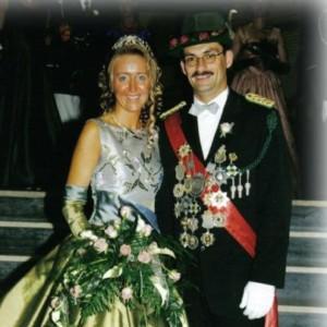 2000 - Harald Franke & Ehefrau Stephanie
