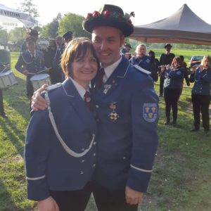 Kaiserpaar 2019 - Carsten & Sandra Nübel